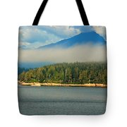 Evening Fog Tote Bag