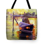 Evening Gold Tote Bag