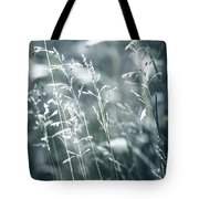 Evening Grass Flowering Tote Bag