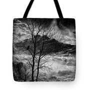 Evening Great Falls Maine Tote Bag
