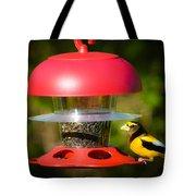 Evening Grosbeak Tote Bag