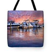 Evening Harbor Tote Bag