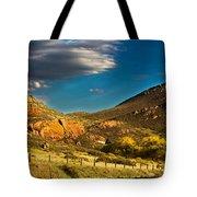 Evening Hogbacks Tote Bag