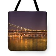 Evening II New York City Usa Tote Bag