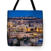 Evening In Jerusalem Tote Bag