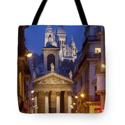 Evening In Paris Tote Bag