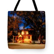Evening In Small Town U. S. A. Tote Bag