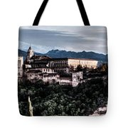 Evening In The Alhambra Tote Bag