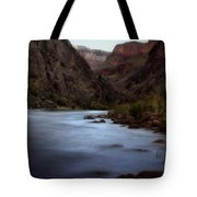 Evening In The Canyon Tote Bag