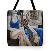 Evening In The Forest Tote Bag