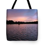 Evening Light Amazon River Tote Bag