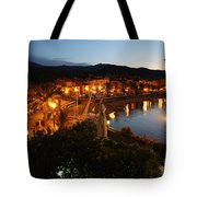 Evening Light In Collioure Tote Bag
