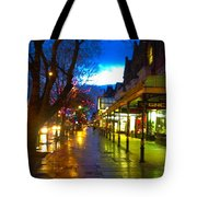 Evening Light On Lord Street Tote Bag