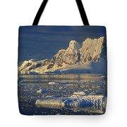 Evening Light On Peaks Paradise Bay Tote Bag