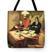 Evening Light, Pub. In Lasst Licht Tote Bag