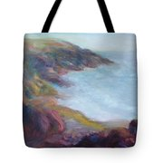 Evening Light On The Oregon Coast - Original Impressionist Oil Painting - Plein Air Tote Bag