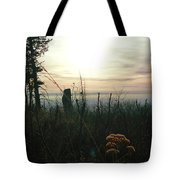 Evening Mist In Fall Tote Bag