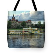 Evening Mood On The Elbe Tote Bag