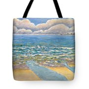Evening North Myrtle Beach Tote Bag