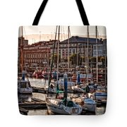 Evening On The Harbor  Tote Bag