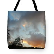 Evening On The Hill Tote Bag