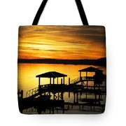 Evening On The May Tote Bag