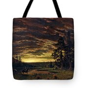 Evening On The Prairie Tote Bag