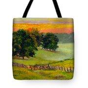 Evening Pastures Tote Bag