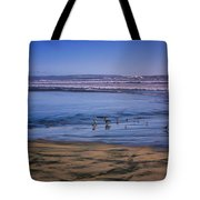 Evening Peace On Coronado Beach Tote Bag
