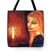Evening Prayer Tote Bag by Jane Small