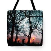 Evening Rain Photofresco Tote Bag