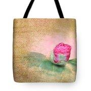 Evening Rosebud Tote Bag