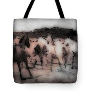 Evening Roundup - Featured In Comfortable Art Group Tote Bag