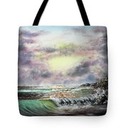 Evening Seashore Tote Bag