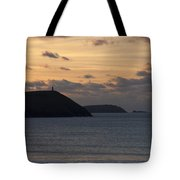 Evening Skies At Polzeath Tote Bag