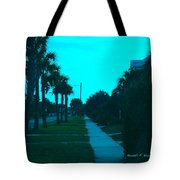 Evening Stroll At Isle Of Palms Tote Bag