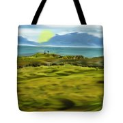 Evening Stroll By The Seashore Tote Bag