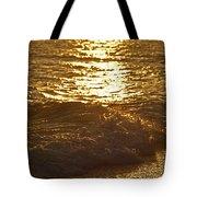 Evening Sun Hive Beach Four Tote Bag