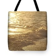 Evening Sun Hive Beach Three Tote Bag