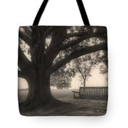 Evening Swing - Oak Tree - Altus Arkansas Tote Bag