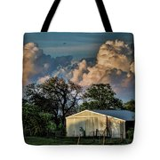 Evening Thunderstorms Tote Bag