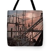 Evening Time On The St. Johns River Tote Bag