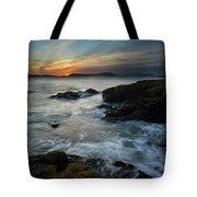 Evening Turmoil Tote Bag