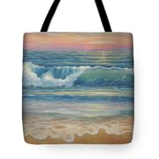 Evening Wave Tote Bag