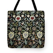 Evenlode Pattern In Green Tote Bag