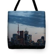 Eventide - Slow Dusk In Toronto Tote Bag
