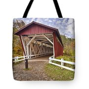 Everett Covered Bridge Tote Bag