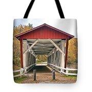 Everett Road Bridge Tote Bag