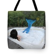 Everglades City Florida Mermaid 018 Tote Bag