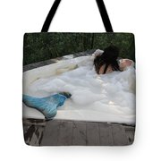 Everglades City Florida Mermaid 071 Tote Bag